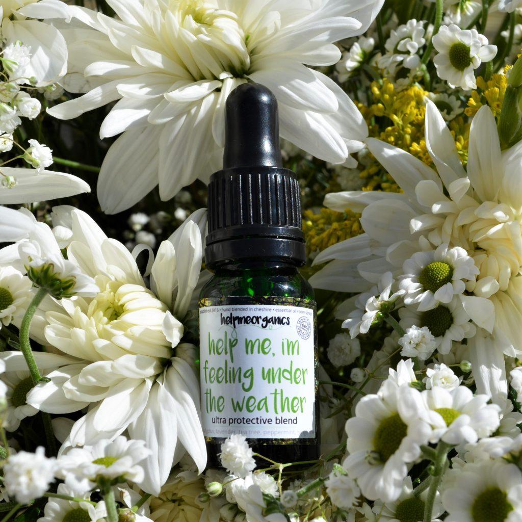 antibacterial essential oil blend